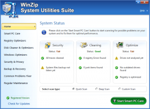 WinZip System Utilities Suite 3.14.1.6 Crack + Key Full Latest