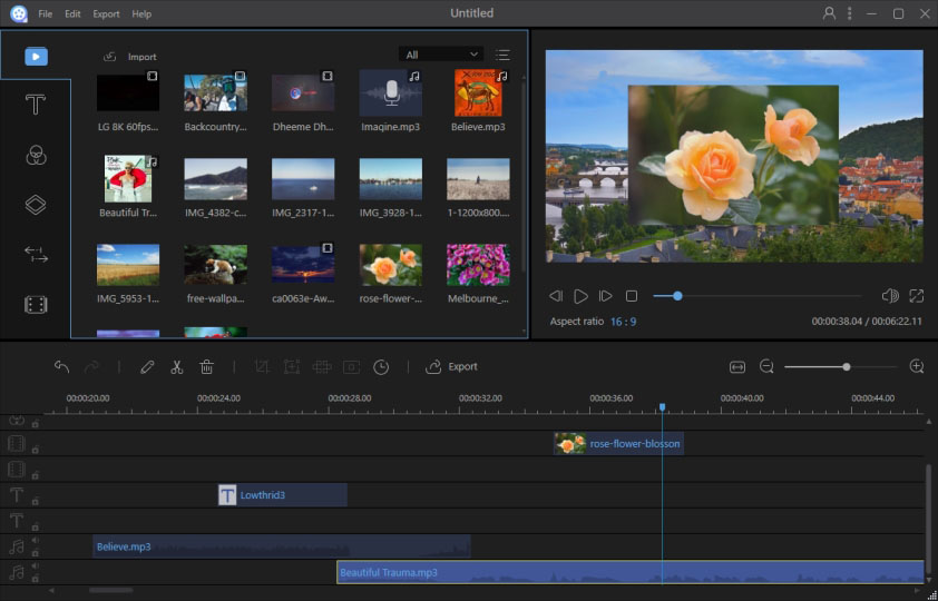 Apowersoft Video Editor 1.7.5.7 Crack + Serial Key Free Download